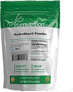 True Nutrition - Hydromax® Powder - Hydration Supplement - Glycerol and Silica Supplement -100g
