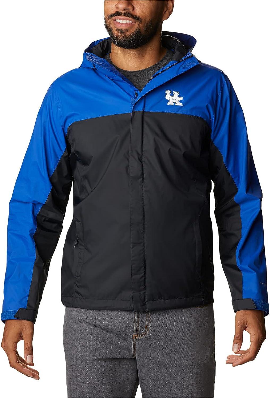 Columbia Men's Big & Tall Collegiate Glennaker Storm Jacket, UK-Azul/Black, 2X B&T