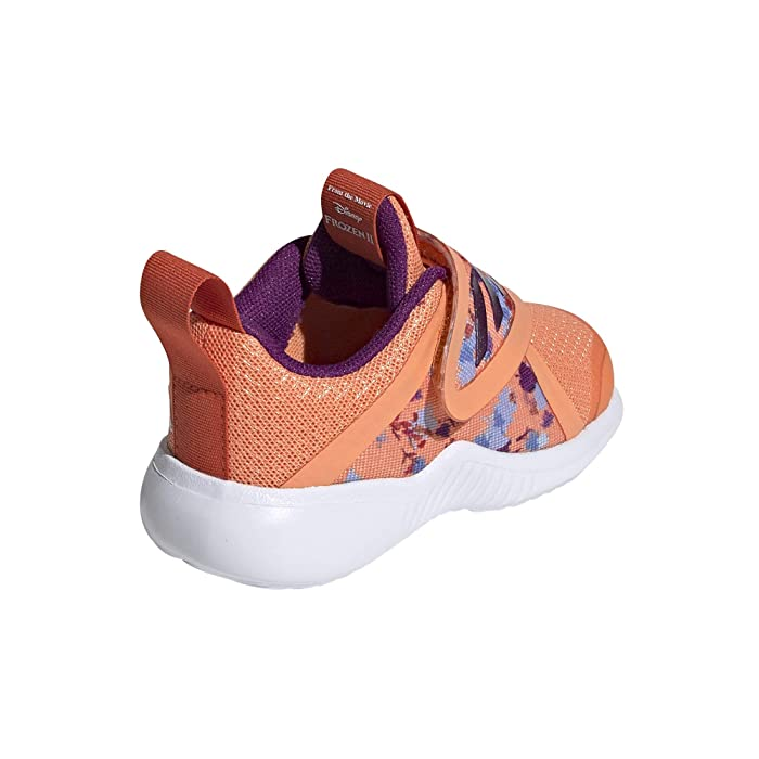 adidas Kids  Fortarun X Frozen CF (Toddler) (Amber Tint/Glory Purple/Glory Amber) Girls Shoes