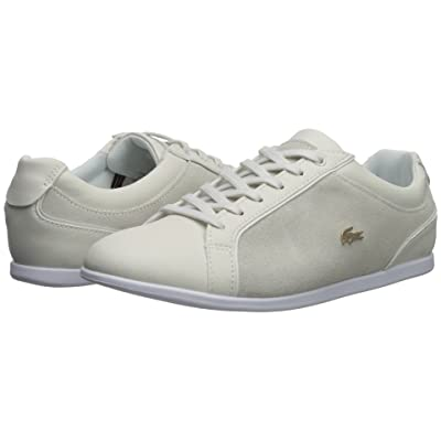 Lacoste Rey Lace 218 1 (Off-White/White) Women