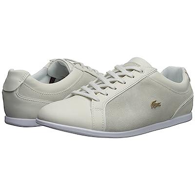 Lacoste Rey Lace 218 1 (Off-White/White) Women
