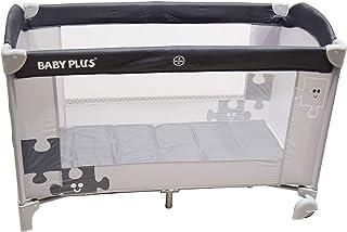 BABY PLUS BP8057 Portable Bed and Playard, Black - Pack of 1, BP8057-BLK