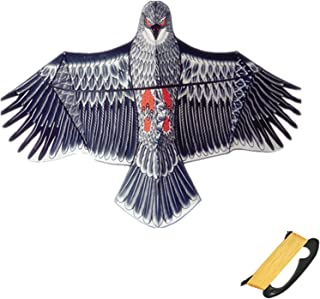 Large Eagle Kite, Huge Wingspan And Lifelike Design, Easy To Assemble And Fly Suitable for Adults And Children Beach Trips...