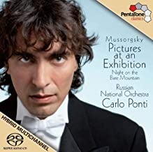 Mussorgsky: Pictures At An Exhibition; Night on Bare Mountain (featuring the Russian National Orchestra & Carlo Ponti)
