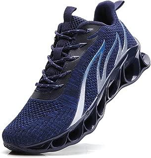 TSIODFO Men Springblade Athletic Walking Shoes