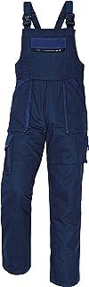 MAX - Pantalones con Peto de Trabajo para Hombre de algodón
