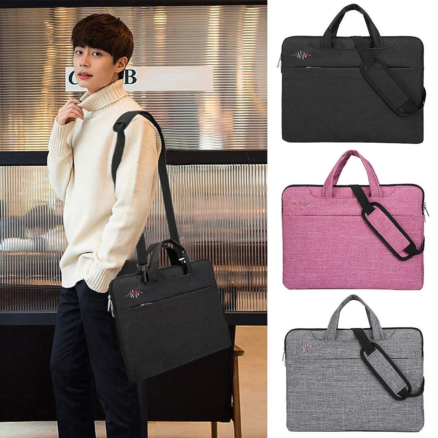 heaven2017 Laptop Shoulder Bag Messenger Bag Laptop Sleeve Waterproof Tablet Bag Case for Xiaomi/Dell/Apple Gray 15.6 inch