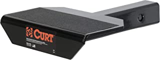 CURT 31001  10-3/4-Inch Non-Skid Trailer Hitch Step for 2-Inch Receiver