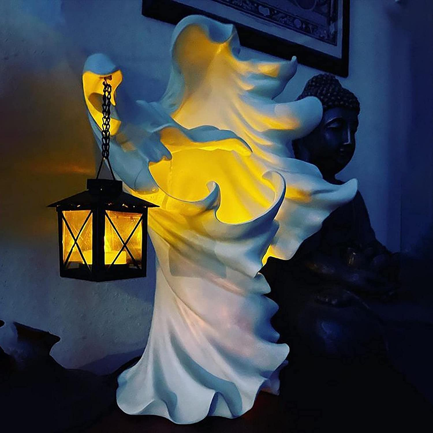 Hell Messenger with Lantern Witch Ghost L Ranking TOP15 Decoration The Cheap SALE Start