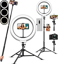 $29 » Selfie Ring Light, LED Light Ring with Stand, Circle Light for Makeup/Live Stream, Desktop Camera LED Ringlight with Tripo...