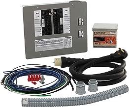 Generac 6296 50-Amp 10-16 Circuit Manual Transfer Switch Kit for Portable Generators