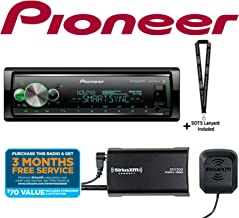 PIONEER MVH-S512BS w/SiriusXM SXV300KV1Multimedia Player (Does not Play CD's) w/SiriusXM Tuner and Antenna Included