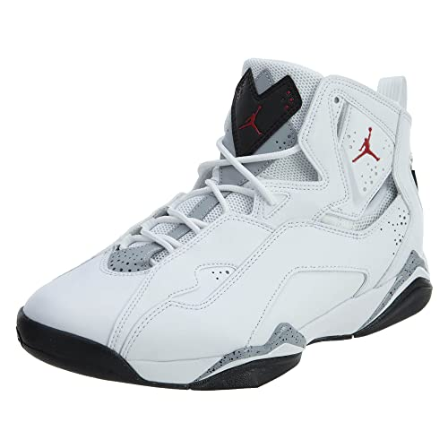 new style 07d9a 2caf4 Jordan Men s True Flight Basketball Shoe, White Gym Red-Black-Wolf Grey