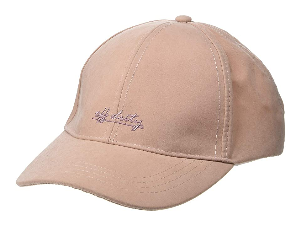 Collection XIIX Weekender Embroidered Baseball (Blush) Caps, Pink