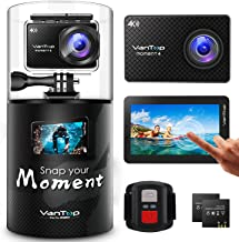 VanTop Moment 4 4K 20MP 30M Waterproof Action Camera with...