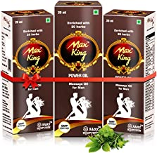 Max Ayurveda King Power Oil - Pack of 3