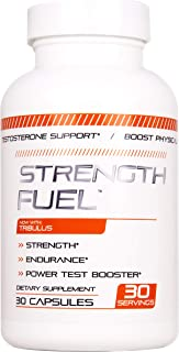 Strength Fuel - Made to Boost Physical Endurance and Power Great for Stamina, Size, Energy, and Endurance Now with Tribulus 90 caps