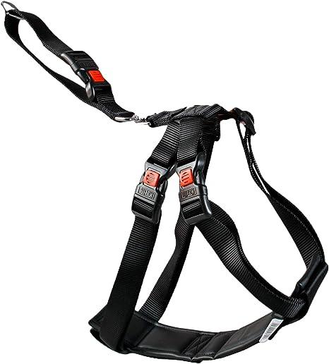 Karlie 1032113 Arnés de Seguridad Coche, Negro, 25-40 cm, XS