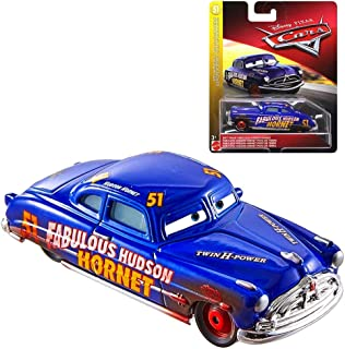Dirt Track Fabulous Hudson Hornet Doc's Racing Days Disney Cars Diecast 1:55 Scale