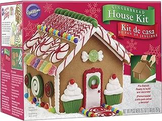 Wilton 2104-1952 Un-Assembled Petite Gingerbread House, Multicolor