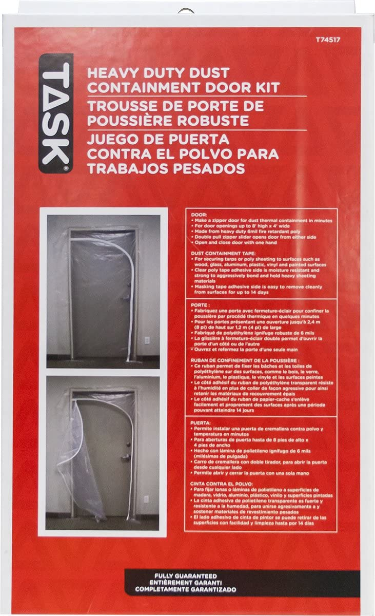 Genuine Task Tools 2021 spring and summer new T74517 Heavy Duty Use Dust Containment for Kit