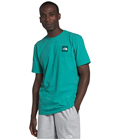 The North Face Short Sleeve Red Box Tee (Lagoon) Men