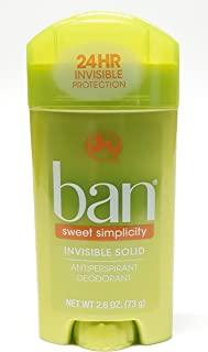 Special pack of 6 BAN SOLID SWEET SURRENDER 2.6 oz