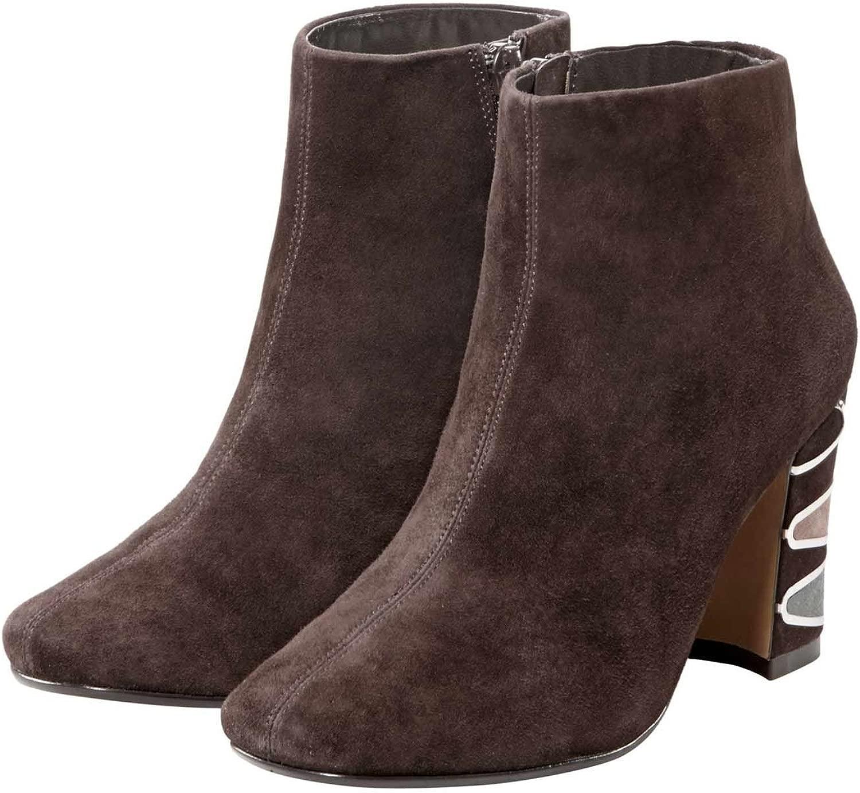 NINA NEW NEW YORK Marken Stiefelette braun Gr  online Shop