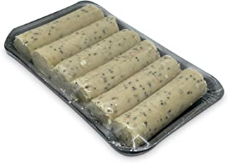 Suet Logs 6 in a Pack Refill - For Outdoor Hanging Log Feeders for Garden Birds - Attracting Tits, Finches, Robins, Sparrows, Jays & many more Wild Birds
