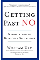 Getting Past No: Negotiating in Difficult Situations Paperback