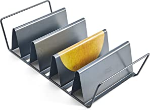 Chicago Metallic Professional 6-Shell Baked Taco Rack, 15-Inch-by-7-Inch