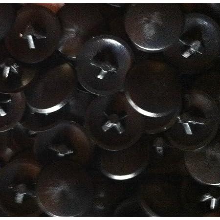 JaneYi/100/St/ück/Schwarze/Schraubenabdeckungen/Kunststoff/Abdeckkappen f/ür Schrauben Schraubenkappen Schraubdeckel/mit Aufbewahrungsbox f/ür/M/öbelschr/änke/Kleiderschrank