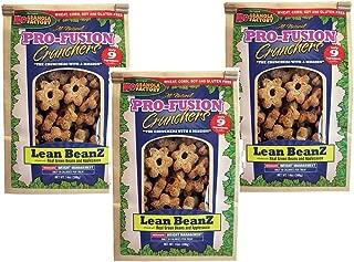 (3 Pack) K9 Granola Factory Lean Beanz Pro Fusion Crunchers, 14 Ounces each
