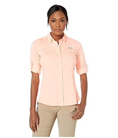 Columbia Lo Dragtm Long Sleeve Shirt (Tiki Pink) Women