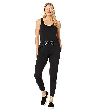 MICHAEL Michael Kors Logo Cord Sleeveless Jumpsuit (Black) Women