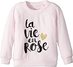 Extra Soft Love Knit Rose Pullover (Toddler/Little Kids)