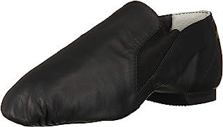 Dance Girl's Elasta Bootie Leather and Elastic Split Sole...