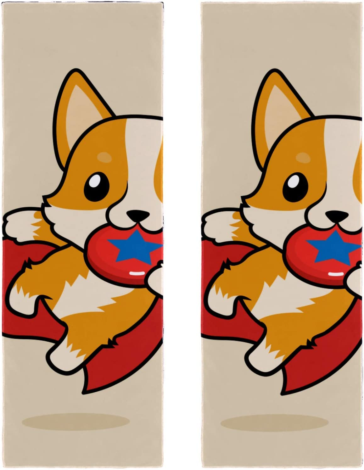 2 Packs Yoga Towel Great interest for Gym Ranking TOP13 Beach Camping Travel and Corg Welsh