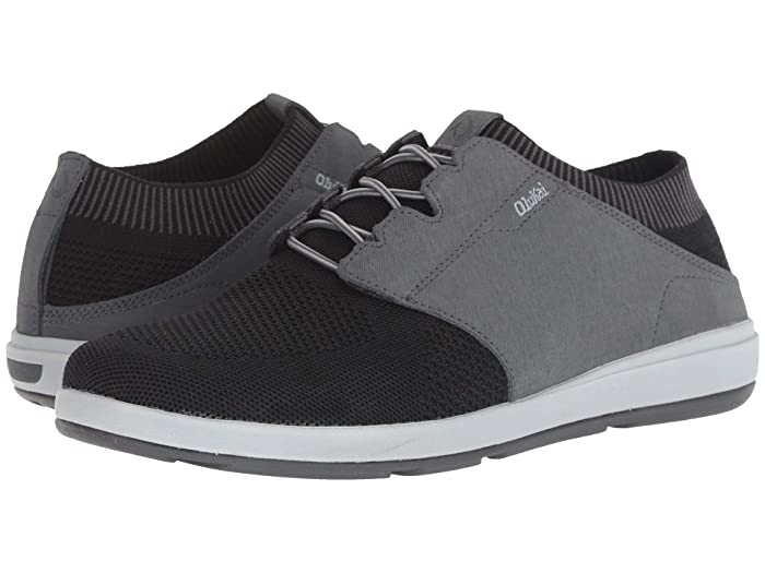 Makia Ulana Kai  Shoes (Black/Dark Shadow) Men's Shoes