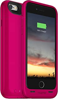 Mophie Juice Pack Air - Slim Protective Mobile Battery Pack Case for iPhone 6/6s – Pink (Renewed)