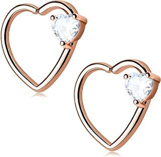 Paire Lapin Playboy Inox 316l Chirurgical Acier Inoxydable Boucles D/'Oreilles
