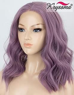 Best short purple lace front wig Reviews