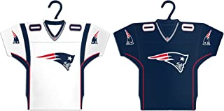 Boelter Brands NFL New England Patriots Home & Away Jersey Ornament, 2-Pack