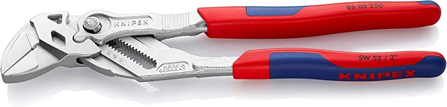 KNIPEX Tools 86 05 250 10-Inch Pliers Wrench with Comfort Grip
