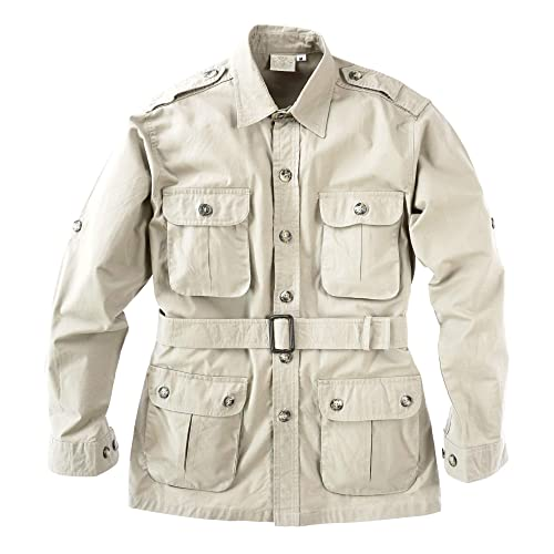 Photographers and Journalists Perfect for Explorers Multi Pockets Tag Safari Jacket for Women Lightweight