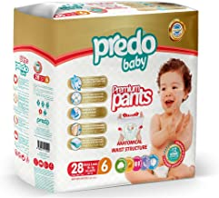 Predo Baby Premium Pants, Extra Large 15+kg, Size 6, 28 Pieces