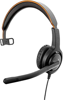 Axtel Voice UC40 Mono USB Headset with Volume Control Module, Advanced Noise Cancellation, HD Voice, Acoustic Protection T...