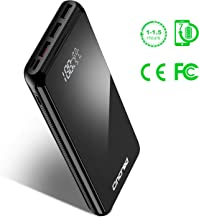 Updated 2019 Version PD Power Bank 20000mah USB C Power Delivery (18W) Portable Phone Charger, Ultra High Capacity Power Bank with 5.1A Output, External Battery Pack for iPhone, iPad, Samsung