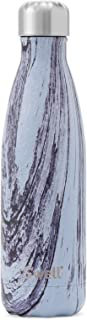 S'well Vacuum Insulated Stainless Steel Water Bottle, 17 oz, Lily Wood