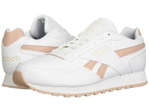 Classic Harman Run, White/Bare Beige/Pale Pink